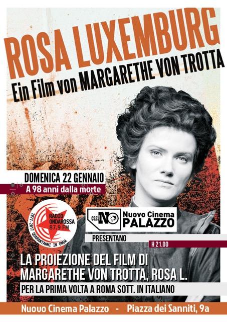 ROSA L. – IN RICORDO DI ROSA LUXEMBURG