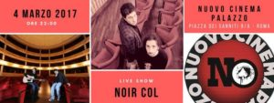 Noir Col Live